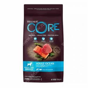 Wellness Core для взрослых собак средних и крупных пород из лосося с тунцом<br /><br />