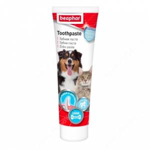 Зубная паста со вкусом печени Beaphar Toothpaste, 100 г