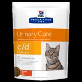 Hill's Prescription Diet c/d Multicare Urinary Care сухой корм для кошек с курицей, 1,5 кг
