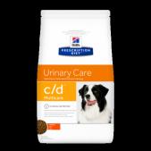 Hill's Prescription Diet c/d Multicare Urinary Care сухой корм для собак с курицей, 2 кг