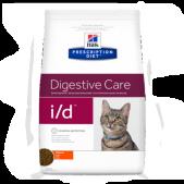 Hill's Prescription Diet i/d Digestive Care сухой корм для кошек с курицей, 400 г