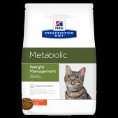 Hill's Prescription Diet Metabolic Weight Management сухой корм для кошек с курицей, 250 г