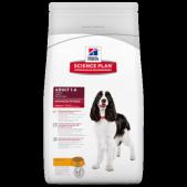 Hill's Science Plan Advanced Fitness сухой корм для собак средних пород курица, 12 кг
