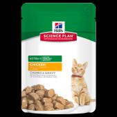 Hill's Science Plan Healthy Development влажный корм для котят курица, 85 г