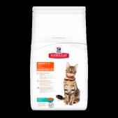 Hill's Science Plan Optimal Care сухой корм для кошек с тунцом, 10 кг