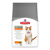 Hill's Science Plan Sterilised Cat сухой корм для кошек и котят от 6 месяцев курица, 3 кг