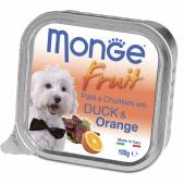 Консерва Monge Dog Fruit (Утка с апельсином), 100 г