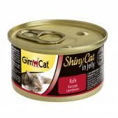Консервы для кошек GimCat ShinyCat из цыпленка, 70 г