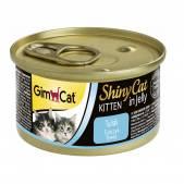 Консервы для котят GimCat ShinyCat из тунца, 70 г