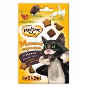 Лакомство для кошек Мнямс Мясной карнавал (Утка, индейка, курица), 50 г