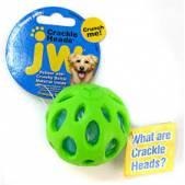 Мяч сетчатый хрустящий JW Crackle&Crunch Ball, большой, зеленый