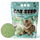 Наполнитель растительный комкующийся Cat Step Tofu Green Tea, 12 л