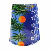 Рубашка Аллоха, Гавайи,  XL, 45 см*60 см, синяя