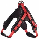 Шлейка неопреновая Hunter Vario Neopren L, красно-черная