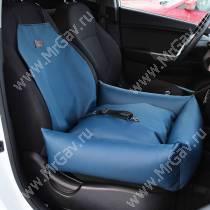 Автокресло с низкими бортами, 50 см*50 см, синее