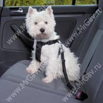 Автомобильный ремень безопасности для собак Trixie, 20-50 см