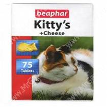 Витамины Beaphar Kitty's сыр, 75 шт.