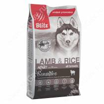 Blitz Adult Lamb&Rice All Breeds