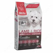 Blitz Adult Lamb&Rice Small Breeds
