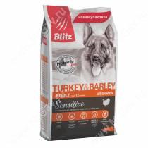 Blitz Adult Turkey&Barley All Breeds
