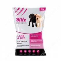 Blitz Puppy Lamb&Rice All Breeds, 3 кг
