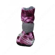Ботинки на меху OSSO, S, пурпурные