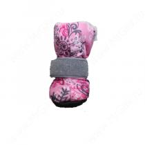 Ботинки на меху OSSO, XS, розовые