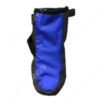 Ботинки утепленные для собак OSSO, 1, черно-синие