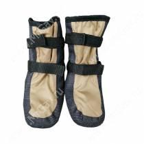 Ботинки утепленные для собак OSSO, 3,серо-бежевые