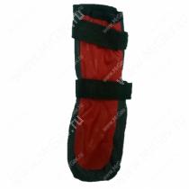 Ботинки утепленные для собак OSSO, 4, черно-красные