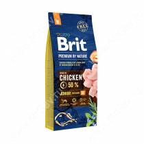 Brit Premium Dog Junior M, 15 кг