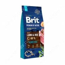 Brit Premium Dog Lamb&Rice, 15 кг