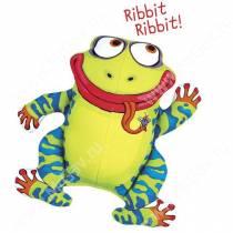 Булькающая смешная зверушка Fat Cat Yada Yadas Dog Toy, лягушка