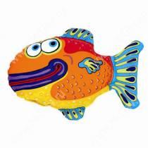 Булькающая смешная зверушка Fat Cat Yada Yadas Dog Toy, рыбка