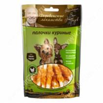 Деревенские лакомства палочки куриные для собак мини-пород, 60 г