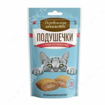 Деревенские лакомства подушечки с пюре из говядины для кошек, 30 г