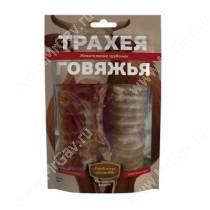 Деревенские лакомства трахея говяжья жевательные трубочки, 50 г
