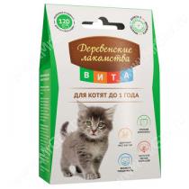 Деревенские лакомства Вита для котят