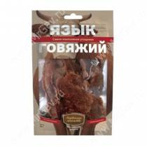 Деревенские лакомства язык говяжий, 50 г