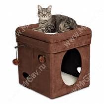 Домик для кошки Midwest Curious Cat Cube