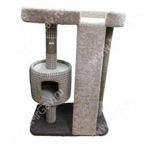 Домик-когтеточка для кошек Горка