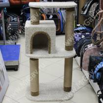 Домик-когтеточка для кошек Модерн