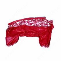 Дождевик OSSO, девочка, модель 1, 28 см, красный