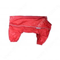 Дождевик OSSO, девочка, модель 2, 30 см, красный