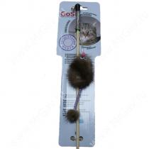 Дразнилка GoSi Мышь с хвостом трубочка