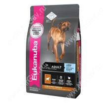 Eukanuba Adult Large Breed (Ягненок с рисом), 12 кг