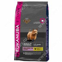 Eukanuba Adult Small Breed (Курица), 15 кг