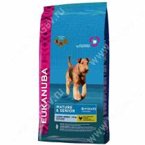 Eukanuba Mature&Senior Large Breed (Курица), 15 кг
