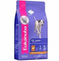 Eukanuba Puppy&Junior All Breeds (Ягненок с рисом), 2,5 кг