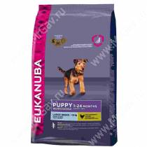Eukanuba Puppy&Junior Large Breed (Курица), 15 кг